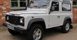 Landrover Defender 90 County Station Wagon 2005 White