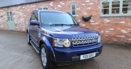 LANDROVER DISCOVERY 4 3.0 SDV6 AUTO GS MODEL
