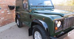 LANDROVER 90 300 TDI GALVANISHED CHASSIS RE-BUILD IS NOW READY