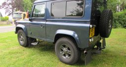 LANDROVER DEFENDER 90 TDCI COUNTY HARD TOP WITH WINDOWS